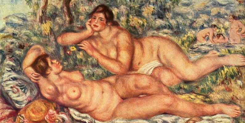 Bathers, by Renoir