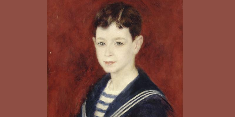 Renoir, Fernand Halphen Enfant