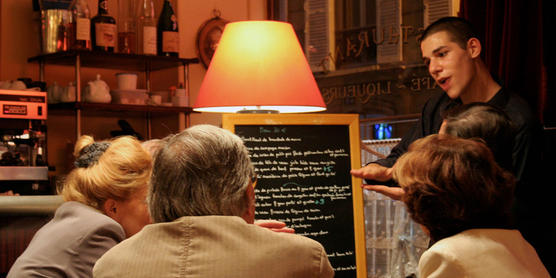 Basic French Phrases in the Restaurant
