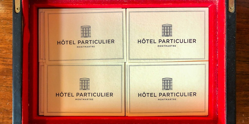 Hotel Particulier, photo by Mark Craft