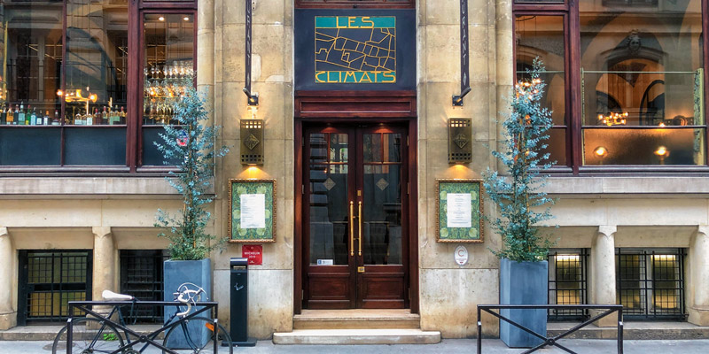 Restaurant Les Climats, photo by Mark Craft