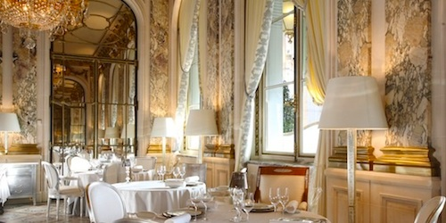 Luxury Paris Restaurants