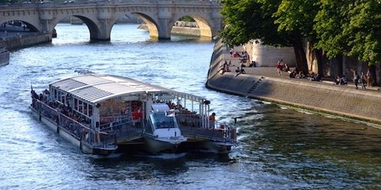Seine River Cruise and Paris Canals