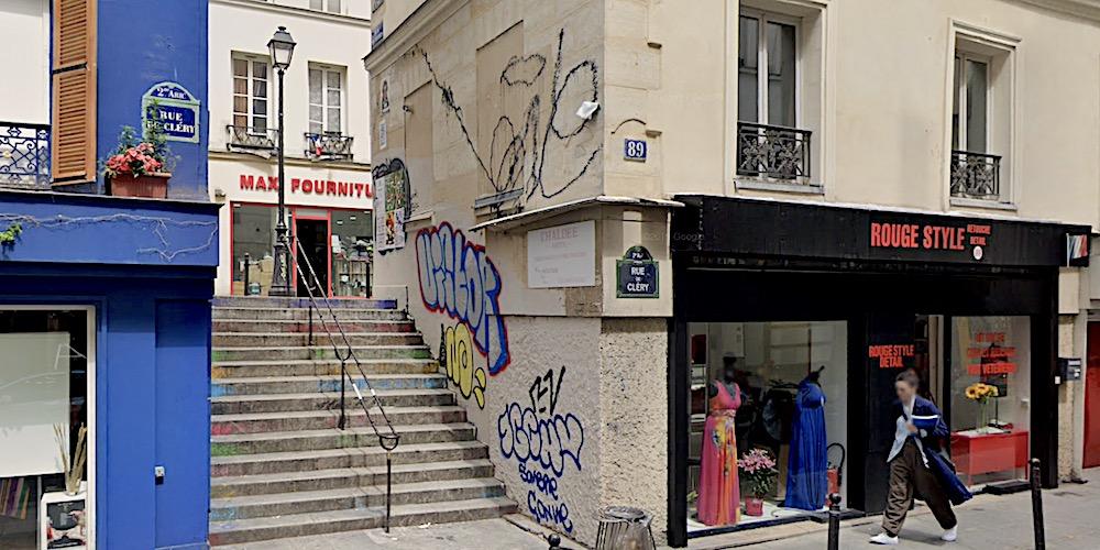 Rue des Degrés