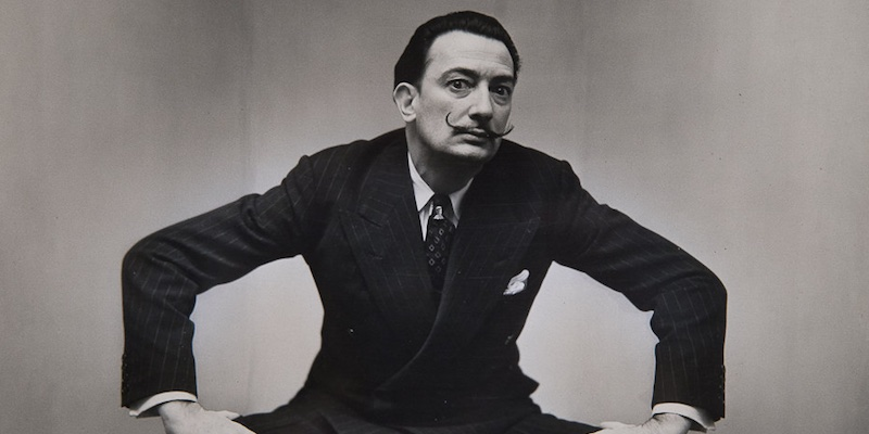 Salvador Dali by Irving Penn