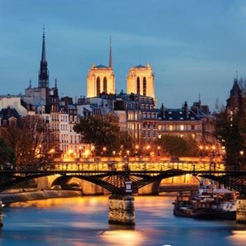 River Cruise + City Illuminations Tour + Dinner on the Eiffel Tower