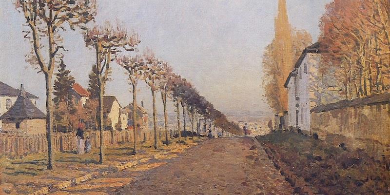 Sisley, Le Chemin de la Machine