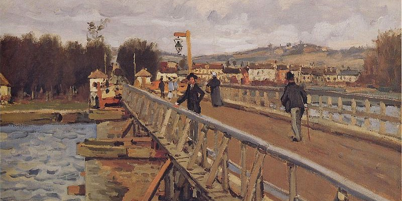 Sisley, Footbridge at Argenteuil