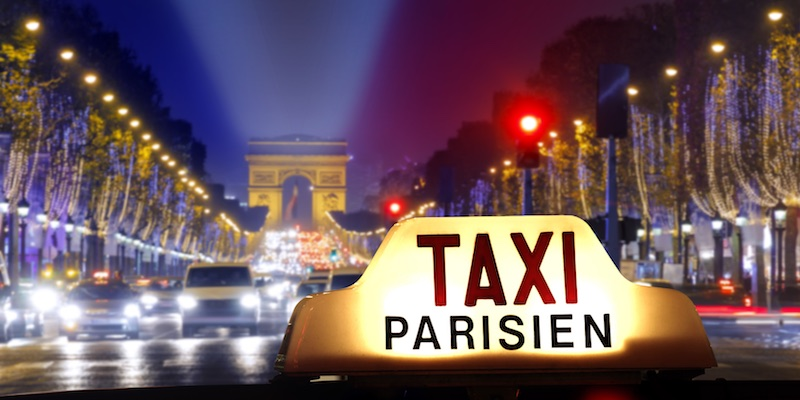 New Rates for Paris Taxis