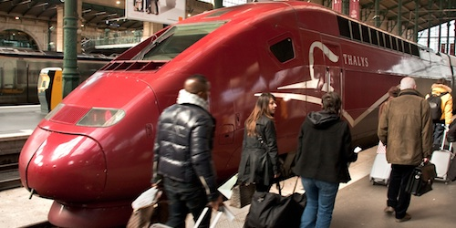 Paris Trains, Thalys