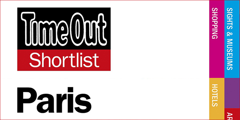 TimeOut Shortlist Paris 2012