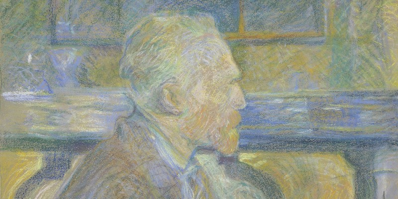 Toulouse-Lautrec, Portrait of Vincent van Gogh