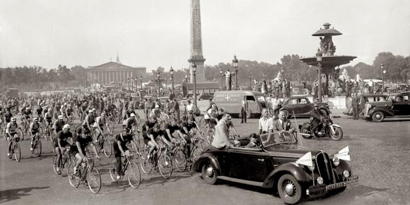 Tour de France and Parade