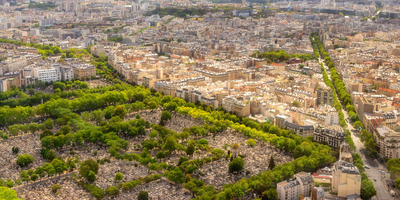 View from Tour Montparnasse, photo by Mark Craft