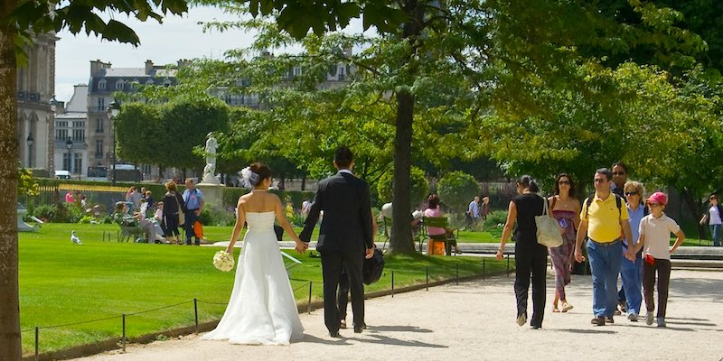 Tuileries wedding