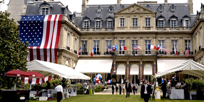 Canadian & US Embassies in Parisv
