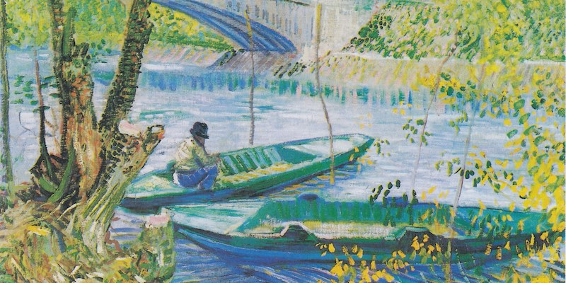 Van Gogh, Angler and Boat