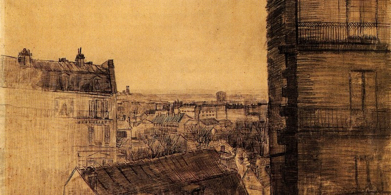 Rue Lepic by van Gogh