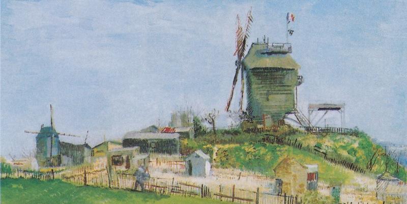 Van Gogh, Moulin de la Galette