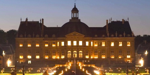 Candlelight Tour of Vaux le Vicomte