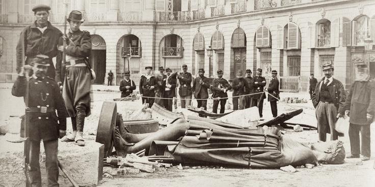Destruction of the Vendome Column