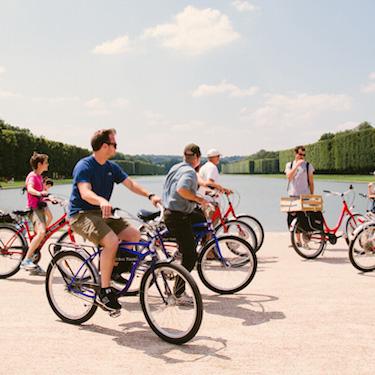 Versailles Bike Tour with Skip-the-Line Entrance