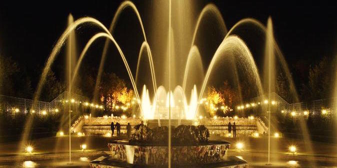 Summer-Only Fountain Show at Versailles