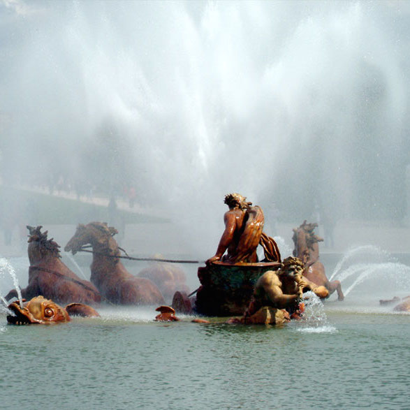 Versailles Walking Tour With Fountain Show