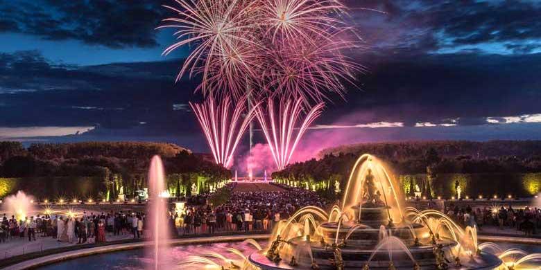 Versailles fountains & fireworks