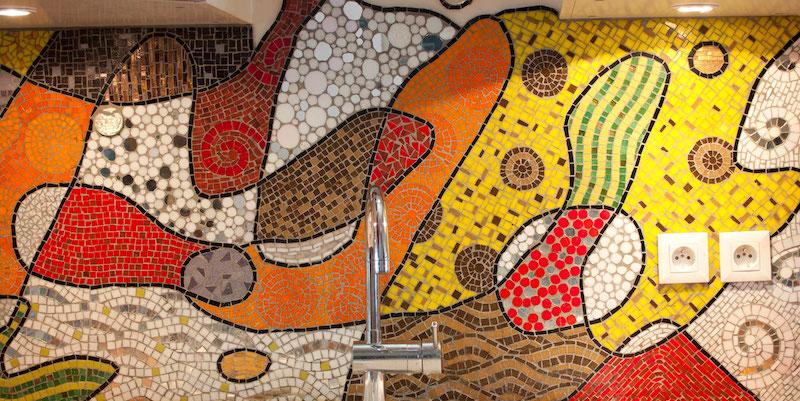 Mosaics at Atelier lilikpó