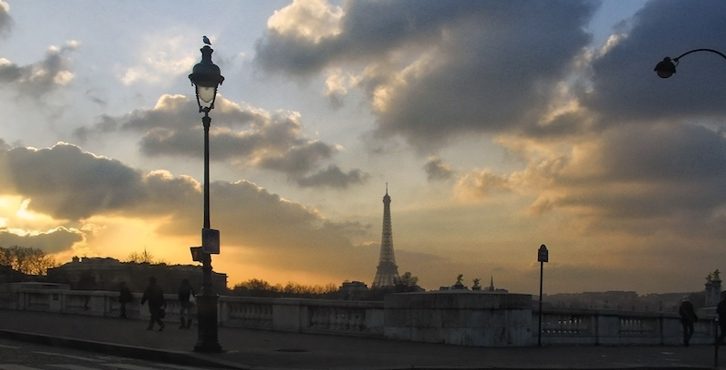 At Sunset, from Place de la Concorde, 2006