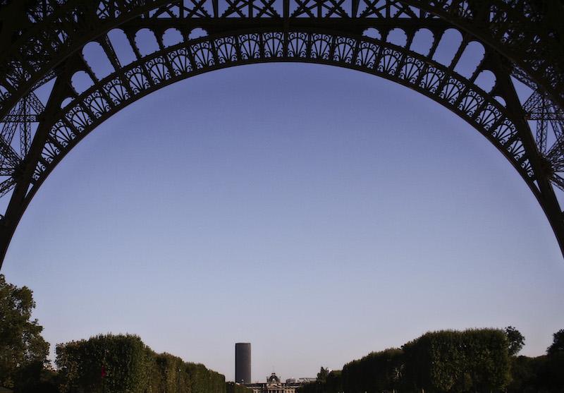 Tour Eiffel and Tour Montparnasse, 2006