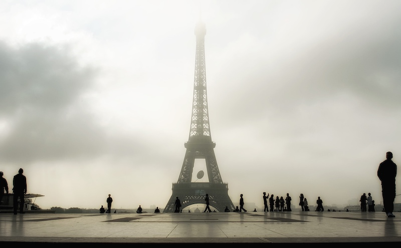 In the Morning Fog, from Trocadero, 2007