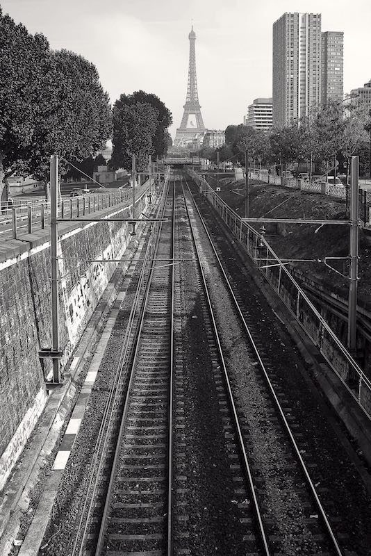 RER Line C, Port de Grenelle, 15th Arrondissement, 2007