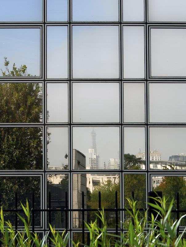 Eiffel Tower Reflection, Parc Andre Citroën, 15th Arrondissement, 2007