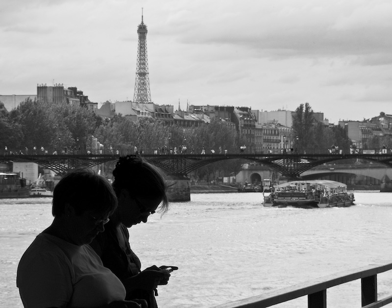 From the Banks of the Seine, with Bateau & Texter, 2009