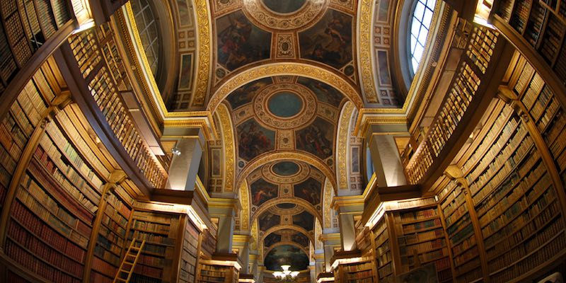 Library at Assemblée Nationale
