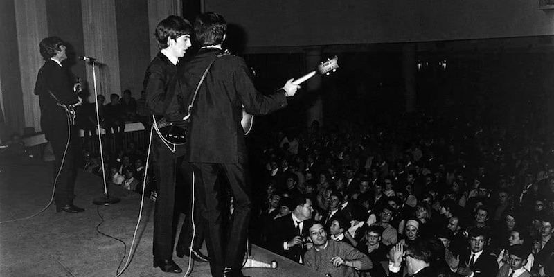Beatles at Olympia, Getty Images, photo by Harry Benson