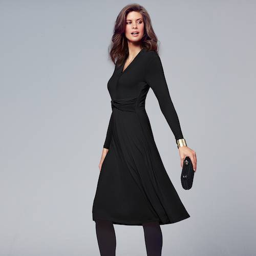 1b23a14457b A simple black dress is pretty much an essential and a fashion piece with  multiple uses. Once you find the perfect black dress you ll be well on your  way to ...