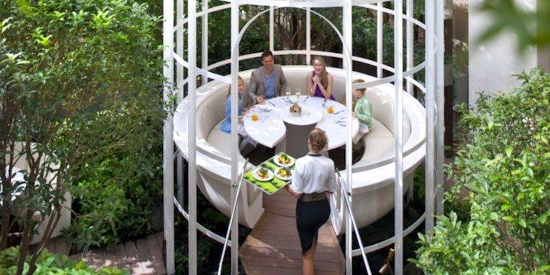 Camélia – The Garden Restaurant