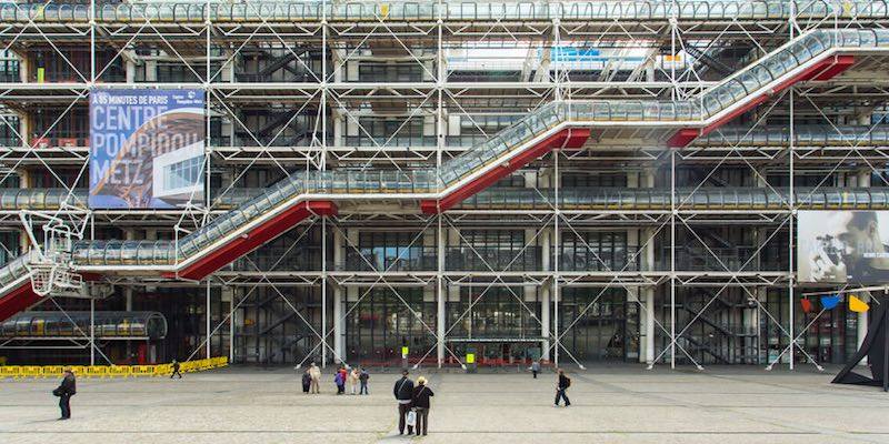 The Pompidou Center