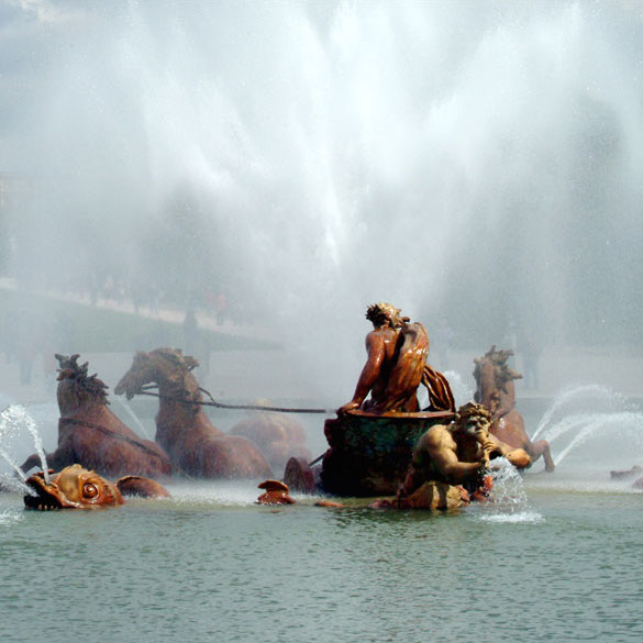 Versailles Summer-Only Fountain Shows