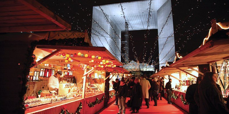 Christmas Market La Defense