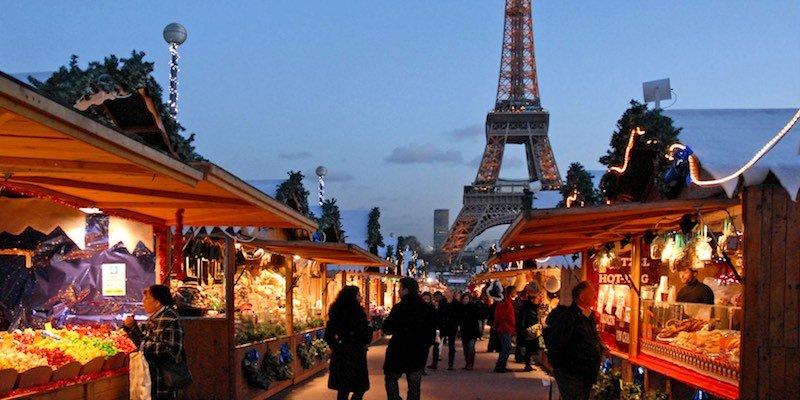 Trocadero Christmas Market