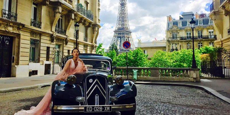 Vintage Tour of Paris