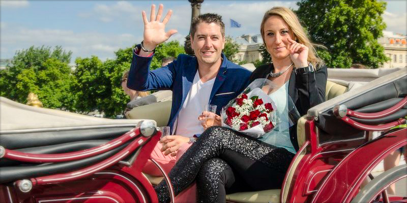 Propose on a Romantic Horse & Carriage Ride