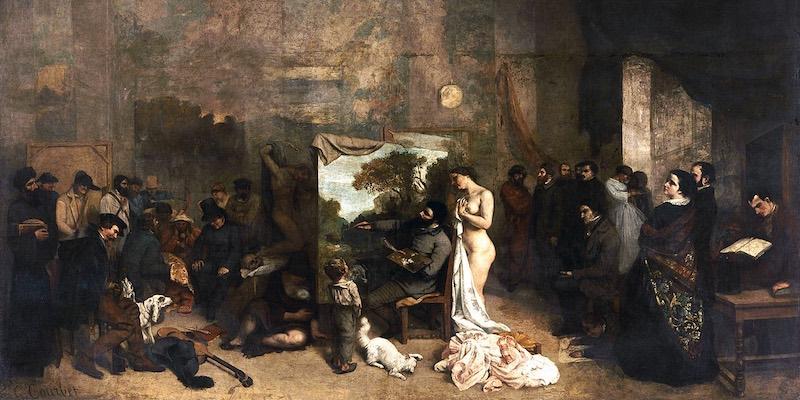 Courbet,The Artists Studio