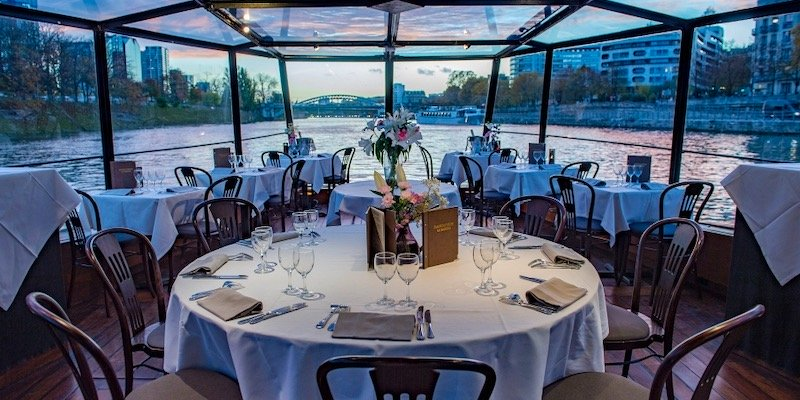 Dinner Cruise with Marina de Paris