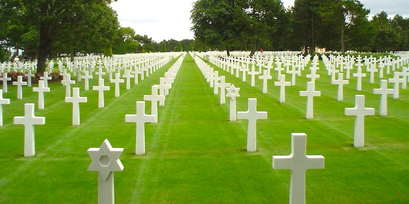 The American Cemetery of Saint-Laurent