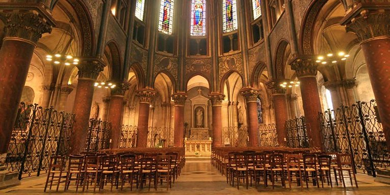 Eglise Saint-Germain-des-Pres interior